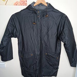 David Taylor Rain Jacket Dark Gray Double layer